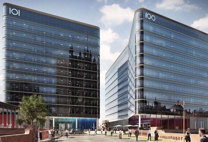 Tristan Capital Partners and joint venture partners Ask Real Estate and the Richardson Family, have signed a forward funding agreement with Salford City Council to develop 100 Embankment, Salford, Greater Manchester