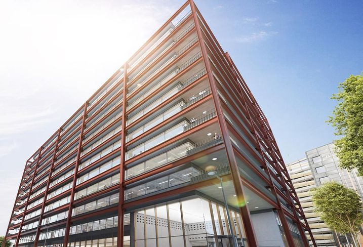 Aviva Investor's fund £113M Two New Bailey office scheme, Salford