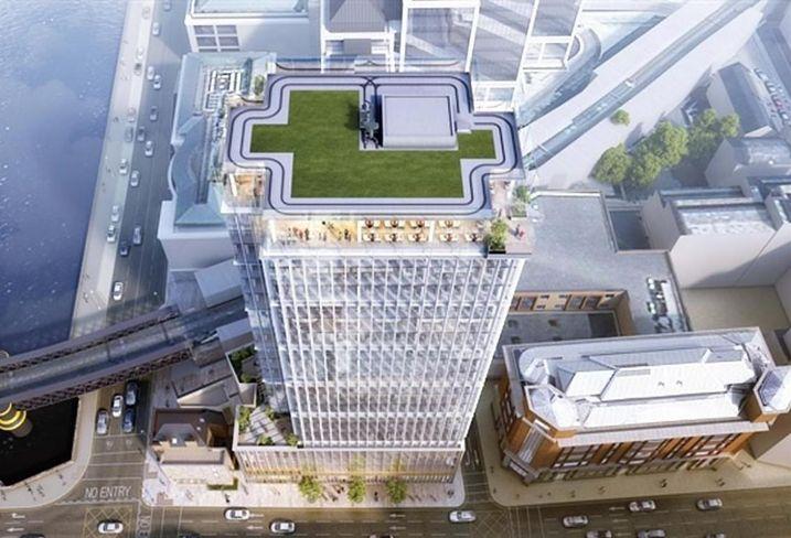 Tara Street Tower proposal