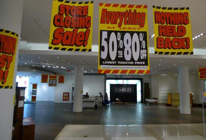 Sears closing sale