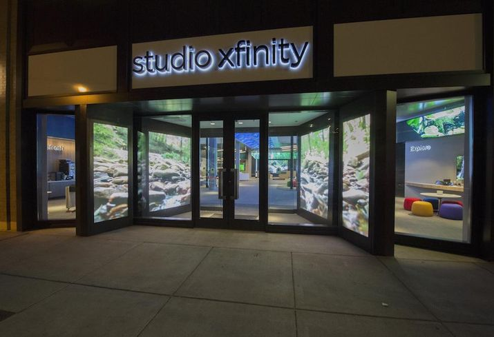 The Studio Xfinity location in Chicago's Halsted Square neighborhood