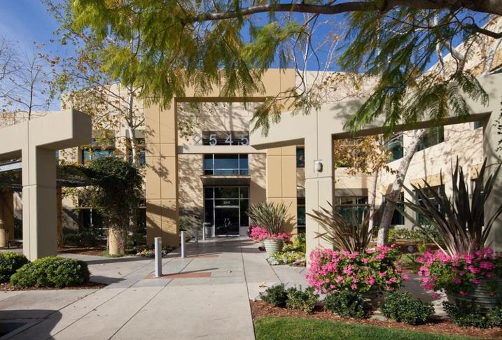 The Arbors biotech campus at 2545 West Hillcrest Drive in Thousand Oaks.
