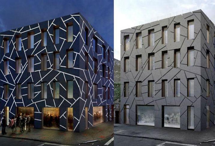 Edg, facade ornamentation