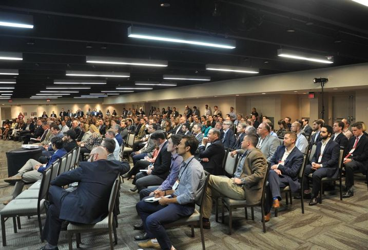The crowd at Bisnow's Houston Multifamily Revival