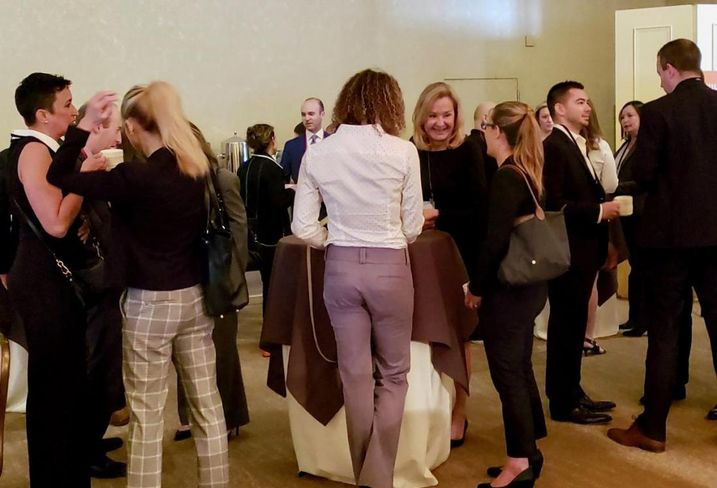 Networking at Bisnow's Neighborhood Series: Century City and Beverly Hills April 17 at the Beverly Hilton