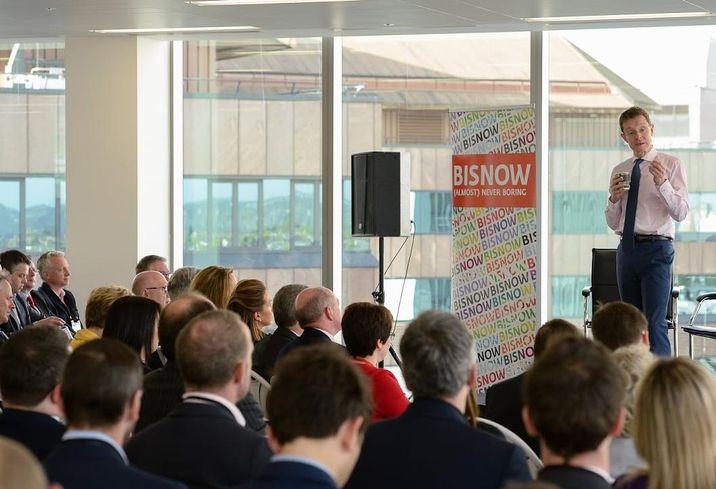 Andy Street, West Midlands Metro Mayor speaking at Birmingham SOTM event 26 April 2018