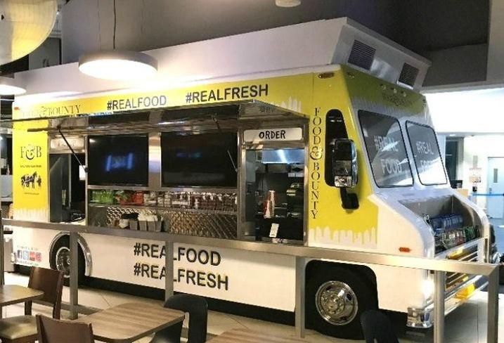 HMSHost runs a food truck inside Los Angeles International Airport, with a rotating cast of chefs.