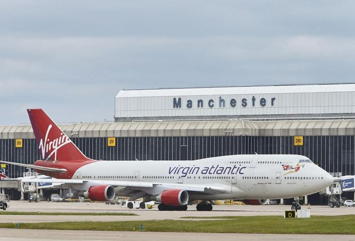 Manchester Airport Virgin Atlantic