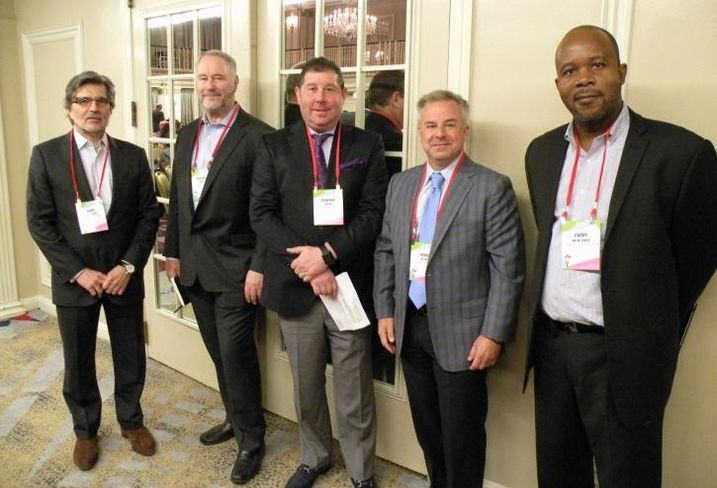 IBT Group CEO Gary Pachucki, Structured Development Founding Principal J. Michael Drew, Missner Group EVP Ed Adler, Next Realty President and CEO Marc Blum and UJAAMA Construction President Jimmy Akintonde