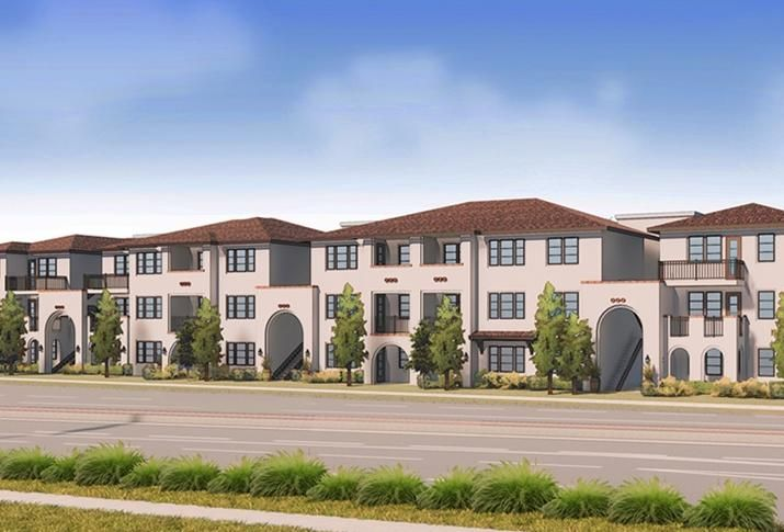 Rendering of JEMCOR's Ageno Apartments planned for Livermore
