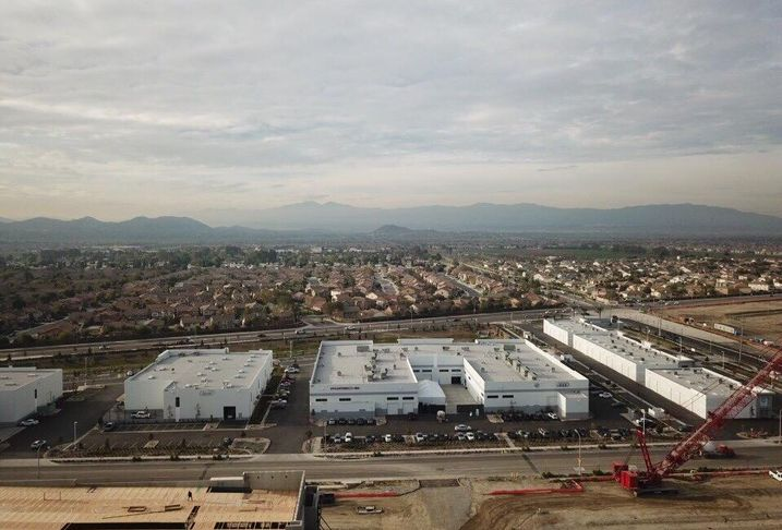 Goodman Commerce Center in Eastvale, Calif.