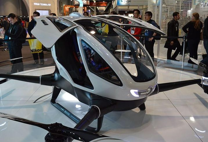 Taxi drone uber