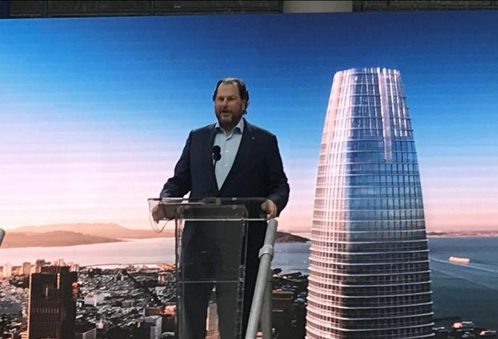 As Salesforce Tower Opens, Salesforce CEO Marc Benioff Sets Goal Of Ending Citywide Homelessness