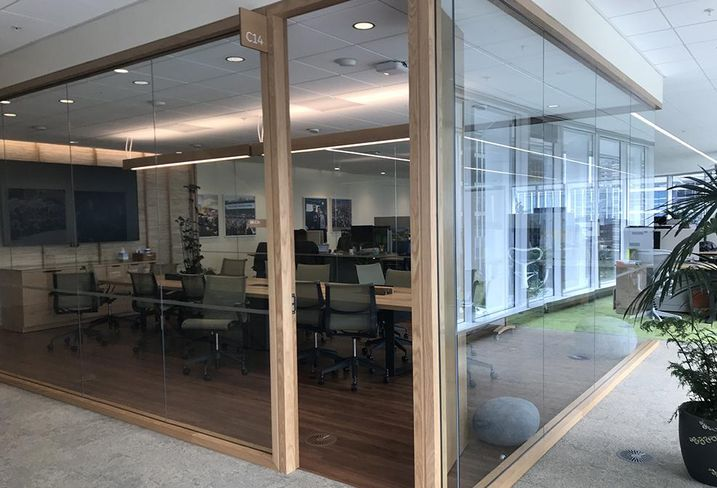 Salesforce's New Offices At Salesforce Tower Have Employee Health, Wellness In Mind