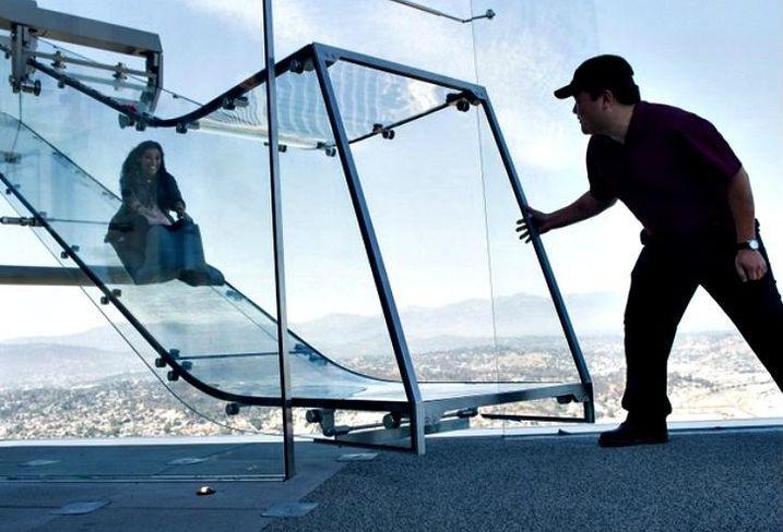 Skyslide at U.S. Bank Tower, Los Angeles