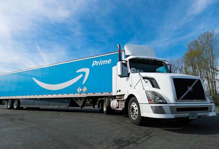 Amazon deliver prime lorry fulfilment