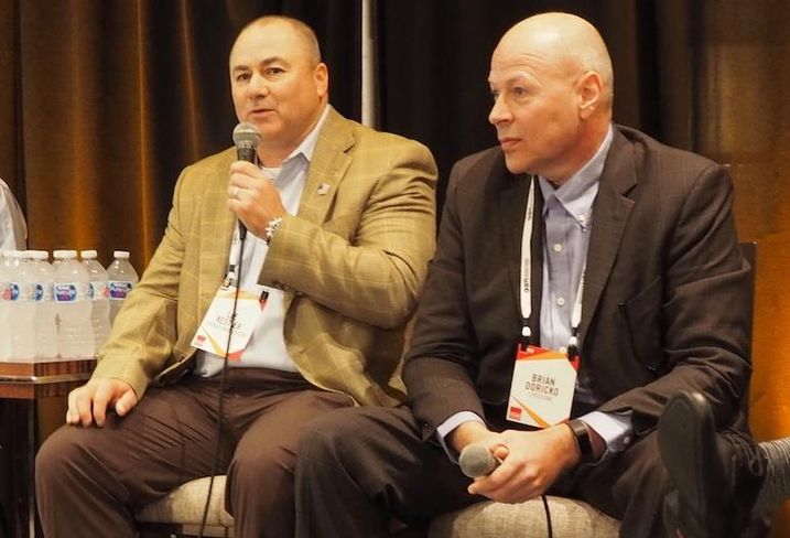 Vantage Data Centers' Lee Kestler and CyrusOne's Brian Doricko