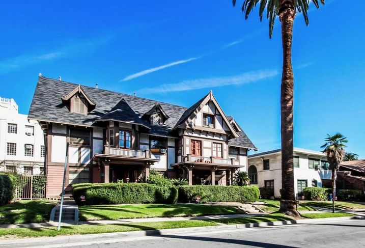 This craftsmen home is one of 11 properties Fuller Theological Seminary has put up for sale as part of a strategic move.