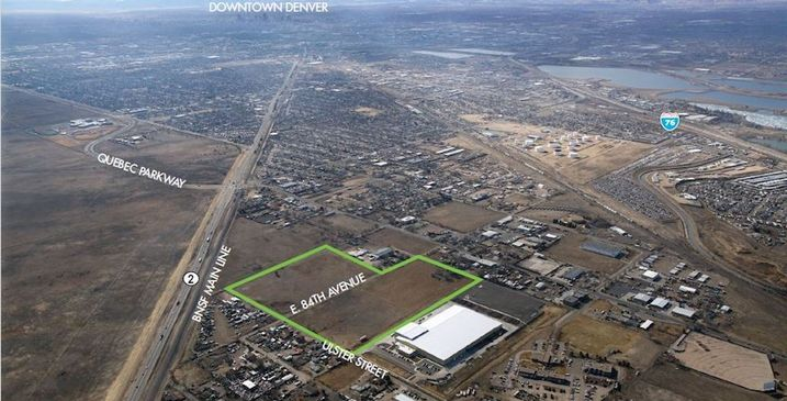 Commerce City Gets Rail-Served Industrial Park