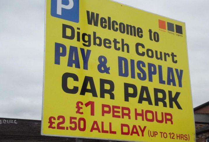 Birmingham car park