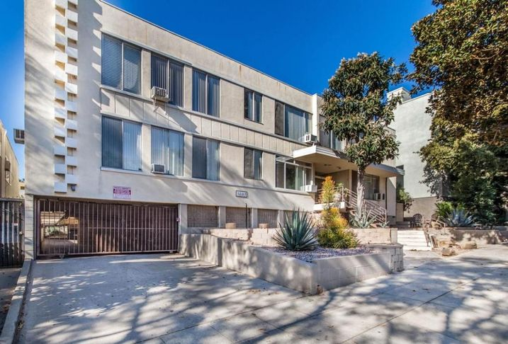 An undisclosed syndication group has purchased a 22-unit with one non-conforming unit apartment building at 1267 N. Laurel Ave. in West Hollywood from a private party for $7.3M.