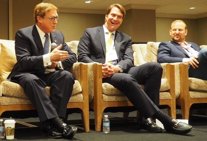 American Psychiatric Association's Saul Levin, Clear Real Estate's Chip Ranno and Douglas Development's Norman Jemal