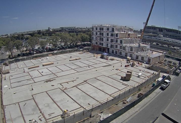 Modular Units Make Their Debut At Oakland Housing Project