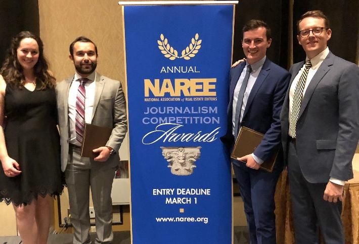NAREE Awards Bisnow News Team For Excellence In Real Estate Journalism