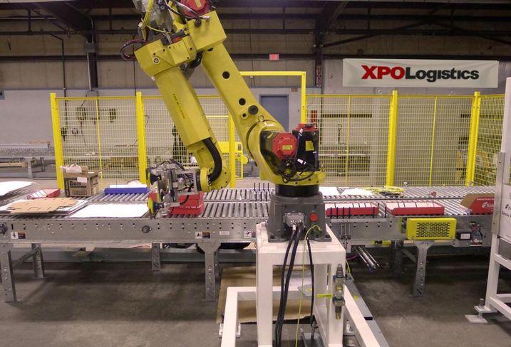 XPO Logistics robot robotics