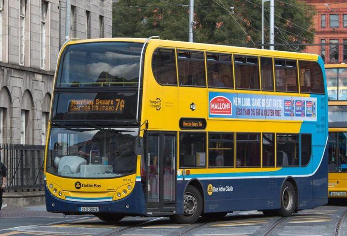 Dublin bus public transport ireland