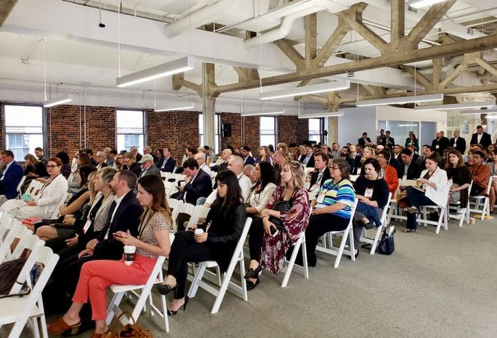More than 180 people attended Bisnow's LA Neighborhood Series: The Arts District held July 19, 2018 at the PacMutual building in downtown Los Angeles.