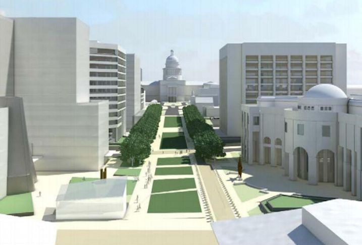 Expect The First Phase Of Capitol Complex Expansion To Kick Off In July