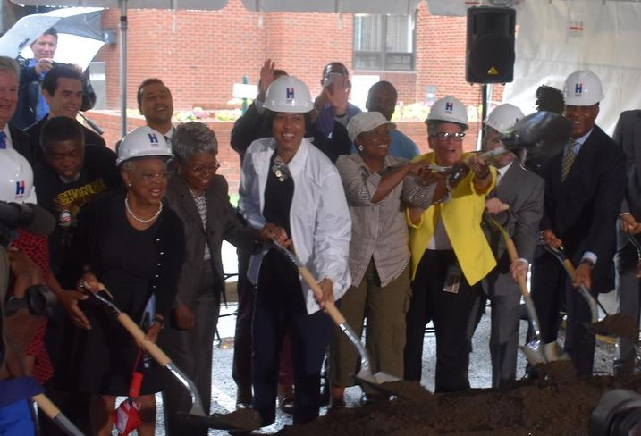 Mayor Muriel Bowser Liberty Place groundbreaking