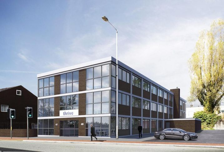 Thrive serviced office co-working Farnworth Bolton Manchester Miller House Market Street