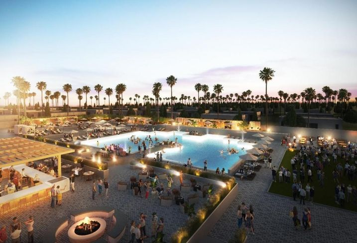 George Smith Partners arranged construction loan financing for the development of a resort in Coachella.