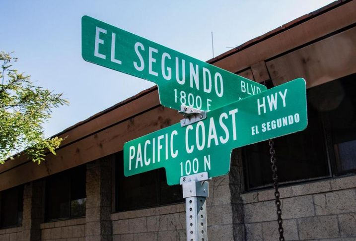 El Segundo changes Sepulveda Boulevard to Pacific Coast Highway