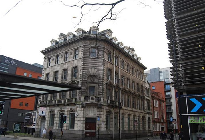 Grade II listed former Barclays (and Union Bank), Piccadilly, Manchester