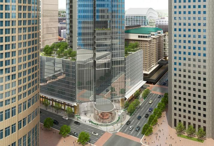 Downtown Houston To Get Another Luxury Office High-Rise