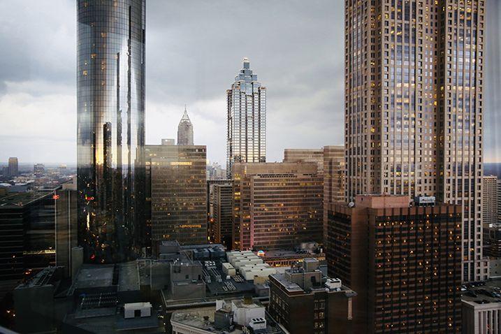 Views from Stevens & Wilkinson's downtown Atlanta office