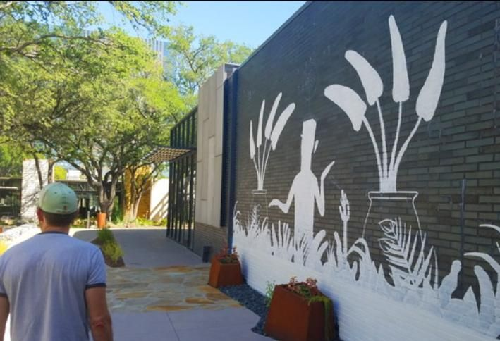 North Dallas' Latest Art Gallery: 33 Murals In The Hill's Retail