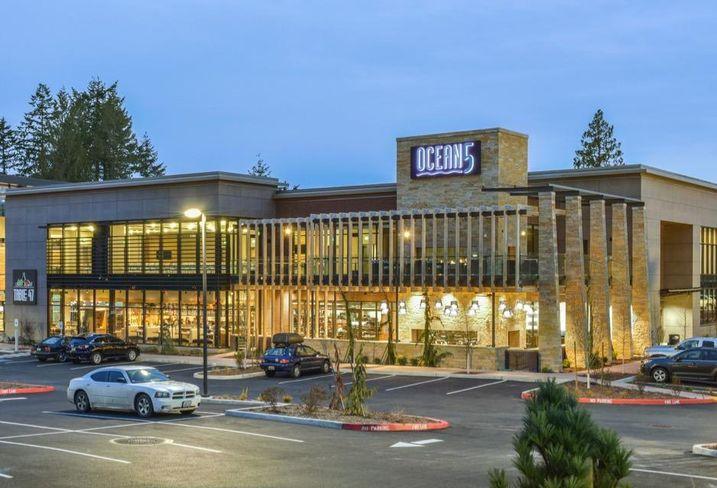 The Ocean5 entertainment complex in Gig Harbor, Washington
