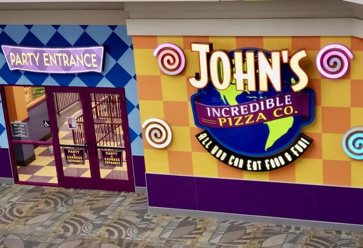 John's Incredible Pizza is a family entertainment center in Orange County