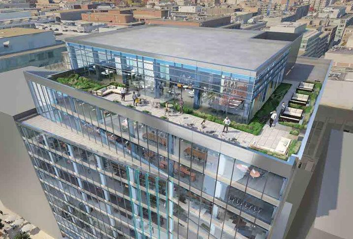 1441 L Street Rendering  Rooftop