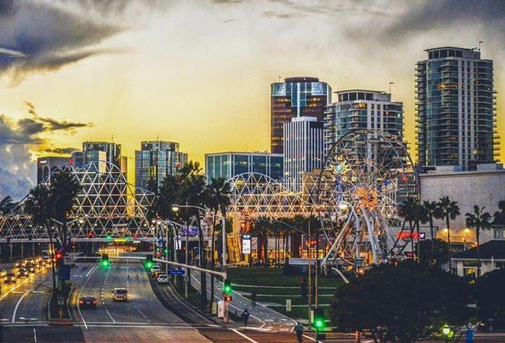 Long Beach, California, skyline