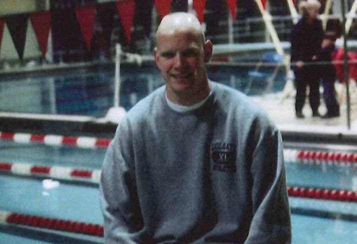 James Nelson was the captain of the swim team at Colgate