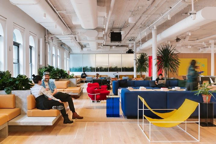 WeWork Common Area Chelsea 6th Floor