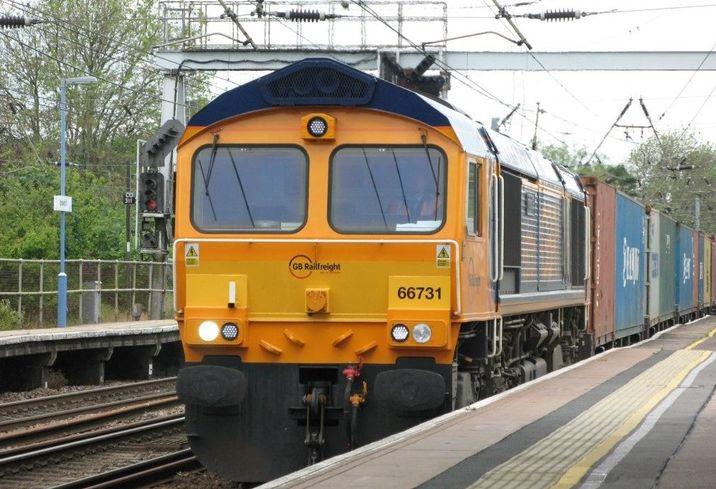 Rail freight railfreight railway distribution logistics