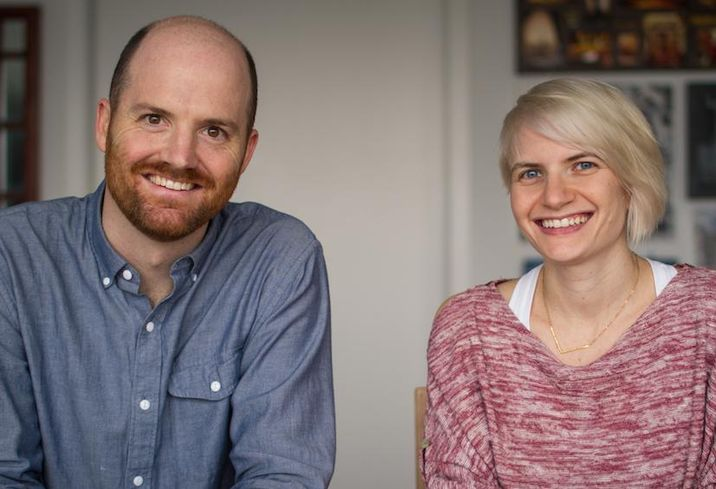 Two Birds co-founders JP Coakley and Kelsey Lents