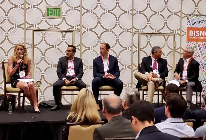 Sheppard Mullin's Pam Westhoff, CohnReznick's Rony Rodriguez, USC Sol Price Center for Social Innovation's Gary Painter, Strategic Realty Holdings' Eddie Lorin and Kosmont Cos.' Larry Kosmont