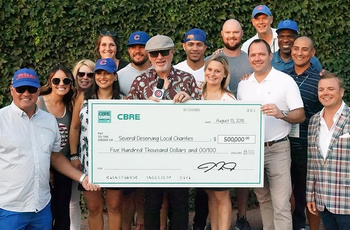 CBRE Charity Bash 2018 Check Presentation